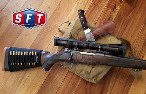porta municiones para culata negro de semper fi tactical®
