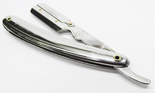 porta navaja para afeitar tipo barbero rasurar parker cromad