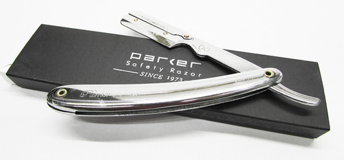 porta navajas barbero parker safety razor +100 navajas derby
