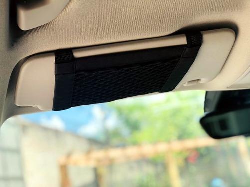 porta objetos documentos interno para o quebra sol do carro