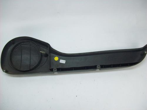 porta objetos palio 96/97/98/99/00 4p cinza lado esquerdo
