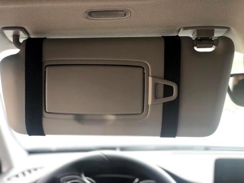 porta objetos para o quebra sol do carro - celular documento