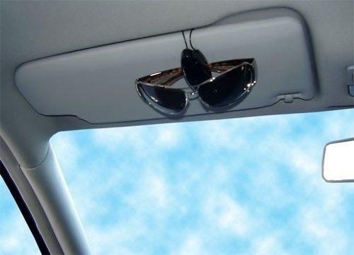 Porta culos veicular suporte quebra sol para culos for Porta oculos automotivo