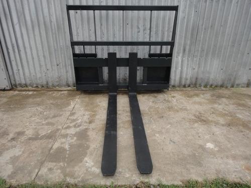 porta pallets - uñas palleteras para minicargadora