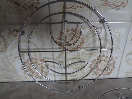 porta panela de metal