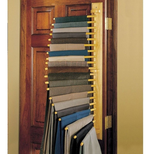 porta pantalones perchero organizador para closet
