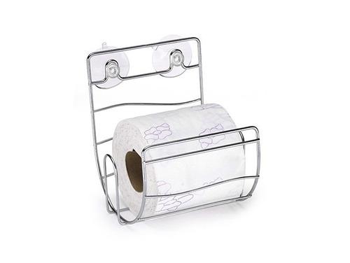 porta papel higienico cromado com ventosa menor preço.....