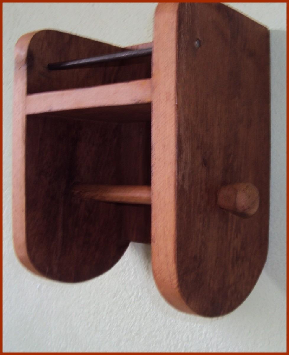 Porta papel higienico rustico r 59 99 em mercado livre for Papel de pared rustico