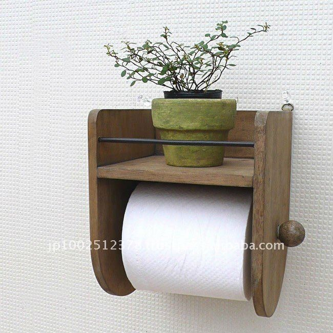 Porta papel higienico rustico r 59 99 em mercado livre for Bathroom fittings ideas