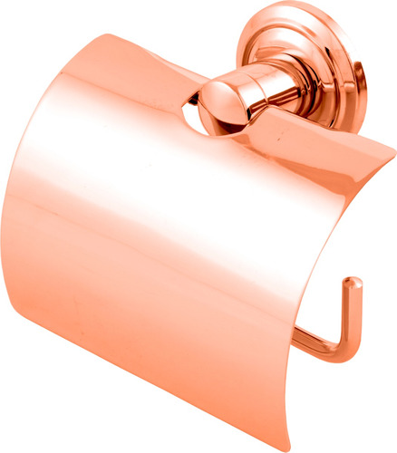 porta papel higiênico de cobre