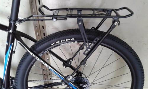 porta paquete bicicleta aluminio rodado 24 al 29 disc brake