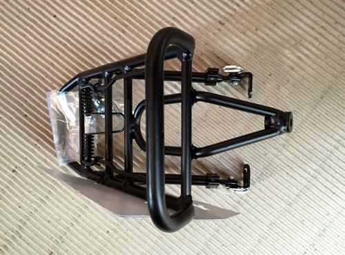 porta paquete delantero regulable c/ trampa aluminio - ciclos