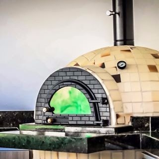porta para forno caipira - pizza - iglu