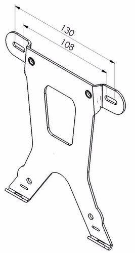 porta patente soporte universal aluminio ciclofox