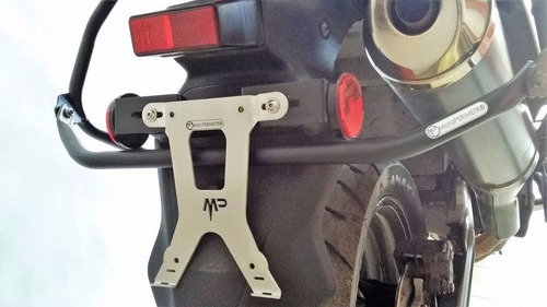 porta patente soporte universal aluminio motoperimetro ®