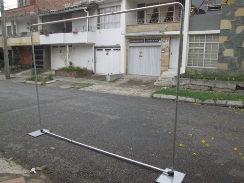 porta pendon backing, mini valla portátil aviso pasa calle