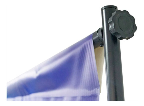 porta pendon stand portatil backing ajustable publicitario