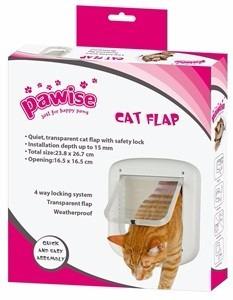 porta pet cat flap door 4 funções vai e vem porta de correr