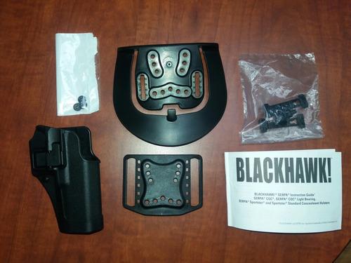 porta pistola black hawk para glock 17