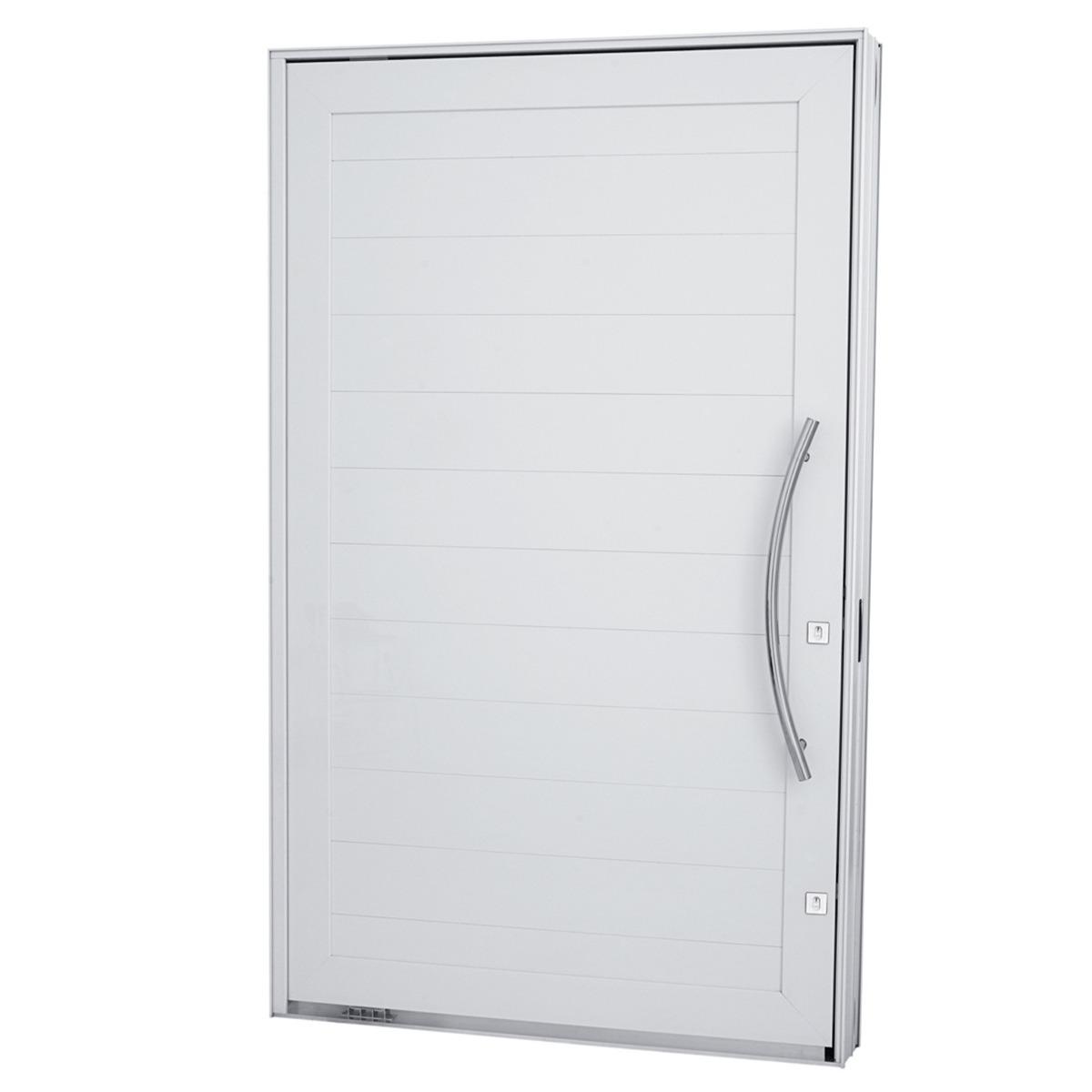 Porta pivotante em alum nio liso 1200mmx2400 for Porta or