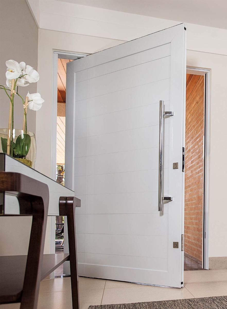 Porta pivotante de alum nio 1600x2500 lisa porta completa for Porta 1 20