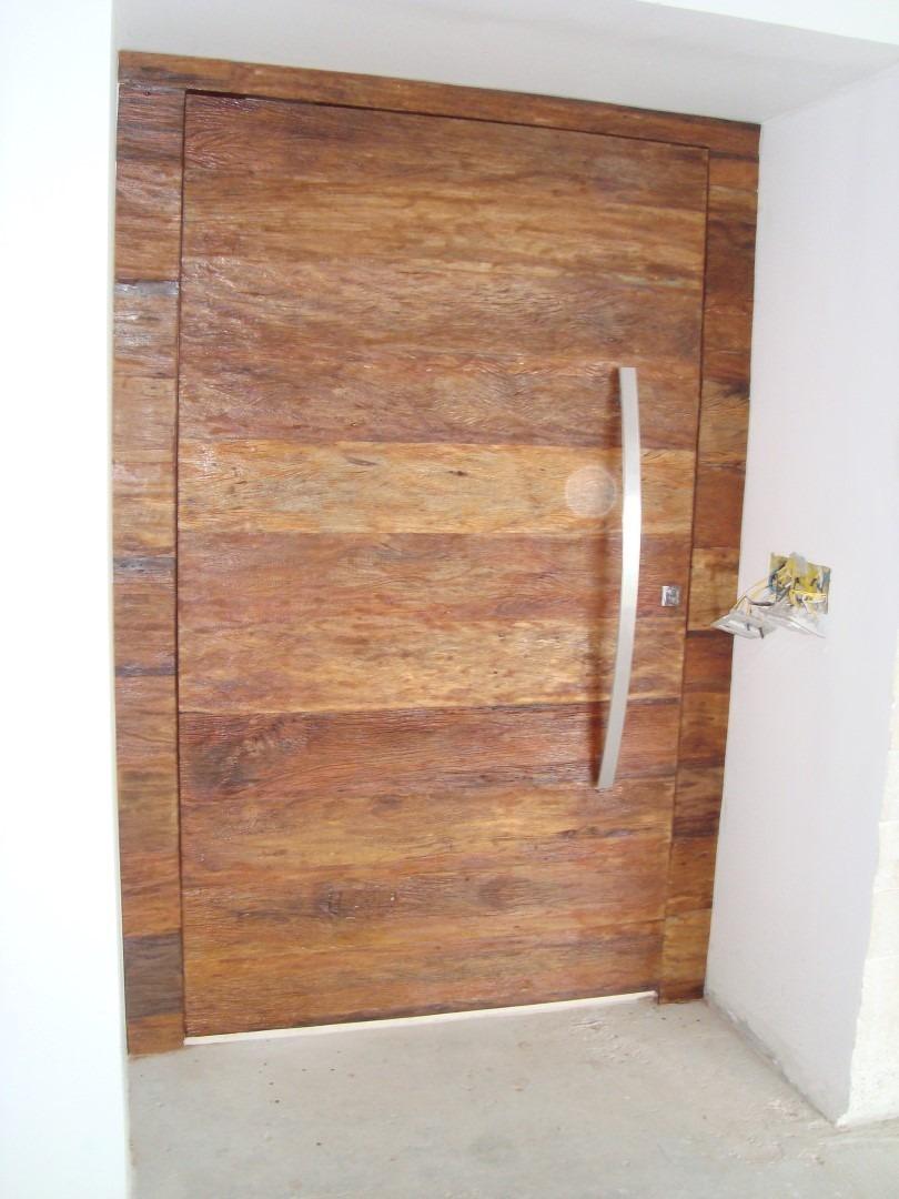 Porta pivotante de madeira peroba rosa pre o por m2 for Espejo de 1 metro por 2 metros