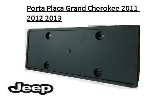 porta placa grand cherokee 2011 2012 2013