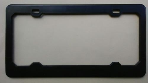 porta placa universal para carro negro