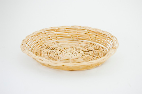 porta plato de bambu, base, canasta, mimbre, arcon 302368