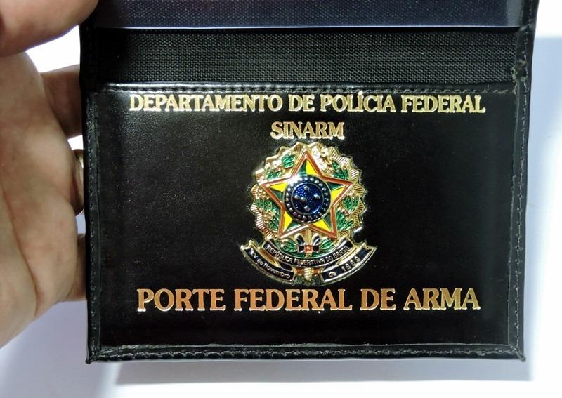 Porta porte de arma couro leg timo personalizado r 99 - Porta pistola da spalla ...