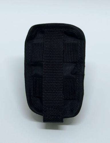 porta rádio modular molle tático suporte baofeng airsoft aeg