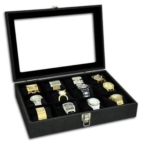 porta relógios para 12 relógios com expositor
