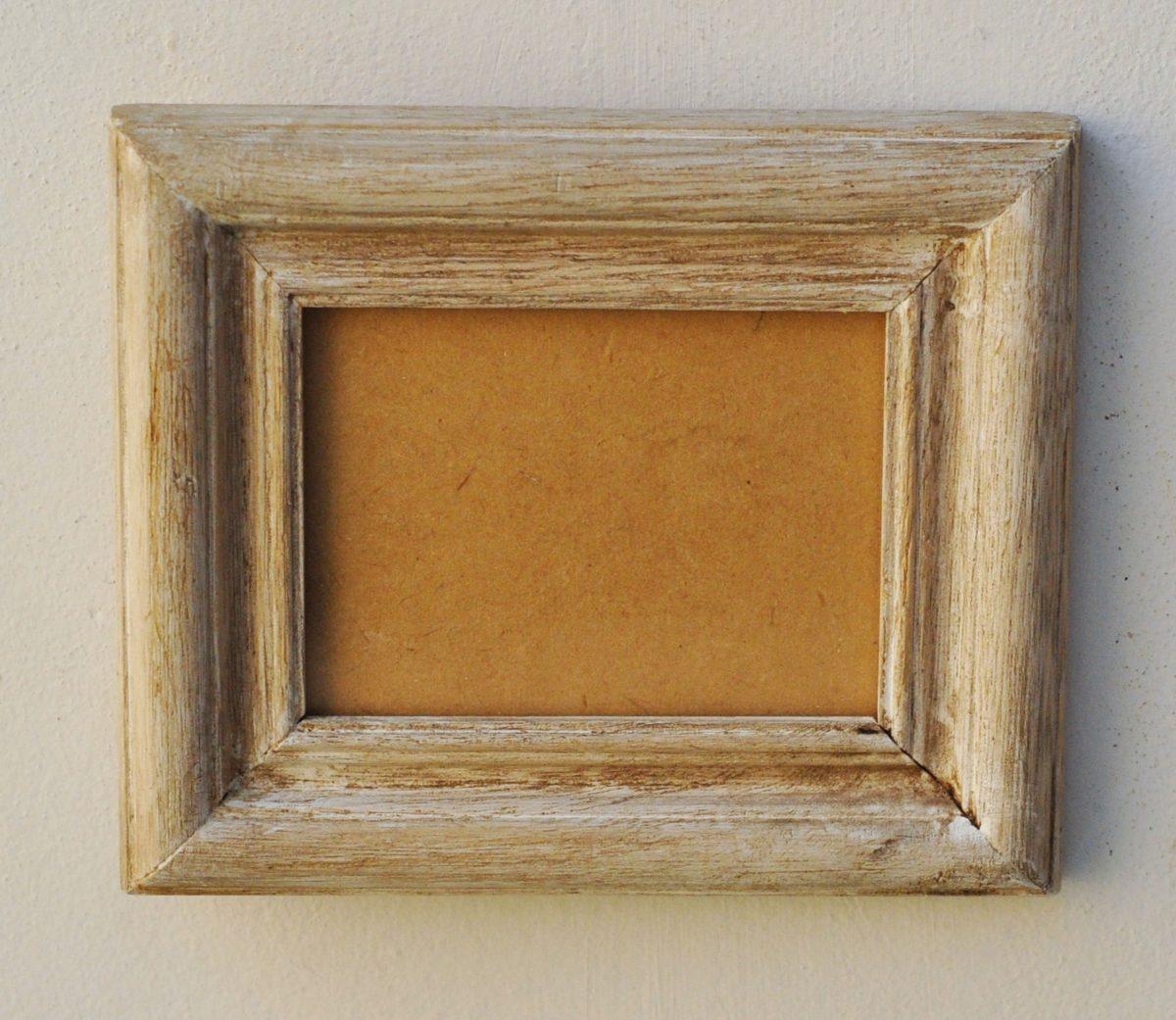 Porta Retrato 8x11 Cm Marco Rustico Blanco Gastado - $ 229,00 en ...
