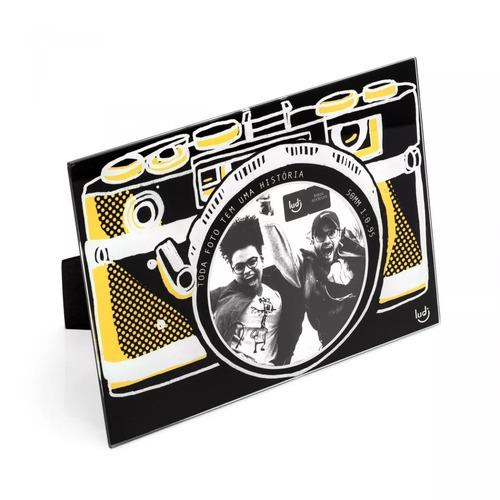 porta retrato - camera fotografica - ludi