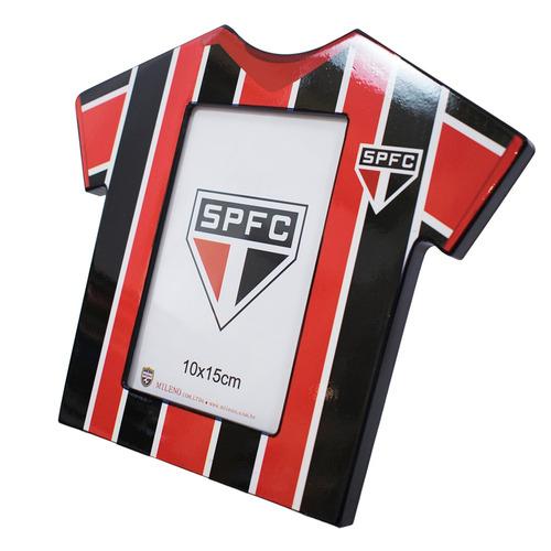 porta retrato camisa futebol foto 10x15cm - spfc