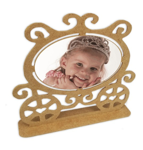 porta retrato carruagem princesa kit 70 peças