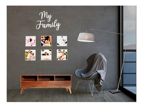 porta retrato collage y letrero en madera mdf perzonalizado