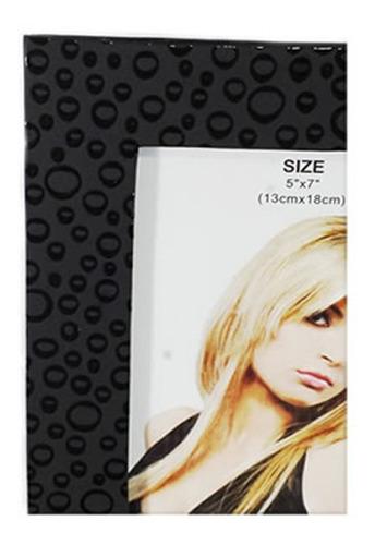 porta retrato decorado preto foto 10x15cm 964