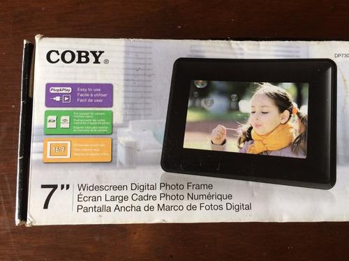 porta retrato digital coby 7