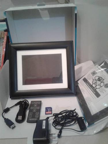 porta-retrato digital. pandigital 8 pulg.