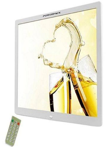 porta retrato digital tela 15 controle remoto  sd pendrivep