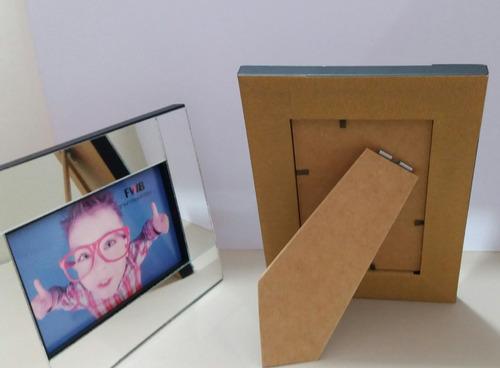 porta retrato espelhado moldura espelho para foto 20x25 r 39 79 em mercado livre. Black Bedroom Furniture Sets. Home Design Ideas