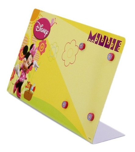 porta retrato infantil com imã disney minnie mouse