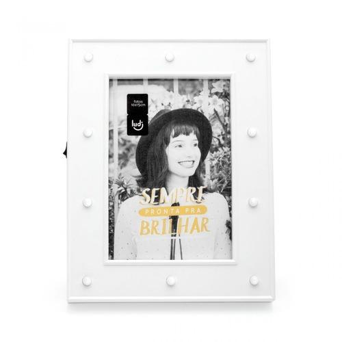 porta retrato led camarim branco