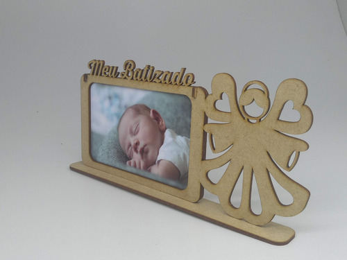 porta retrato lembrancinha batizado