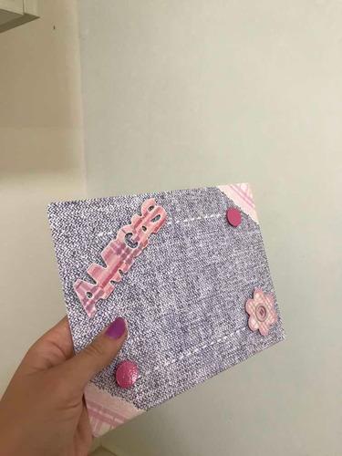 porta retrato lilás magnético