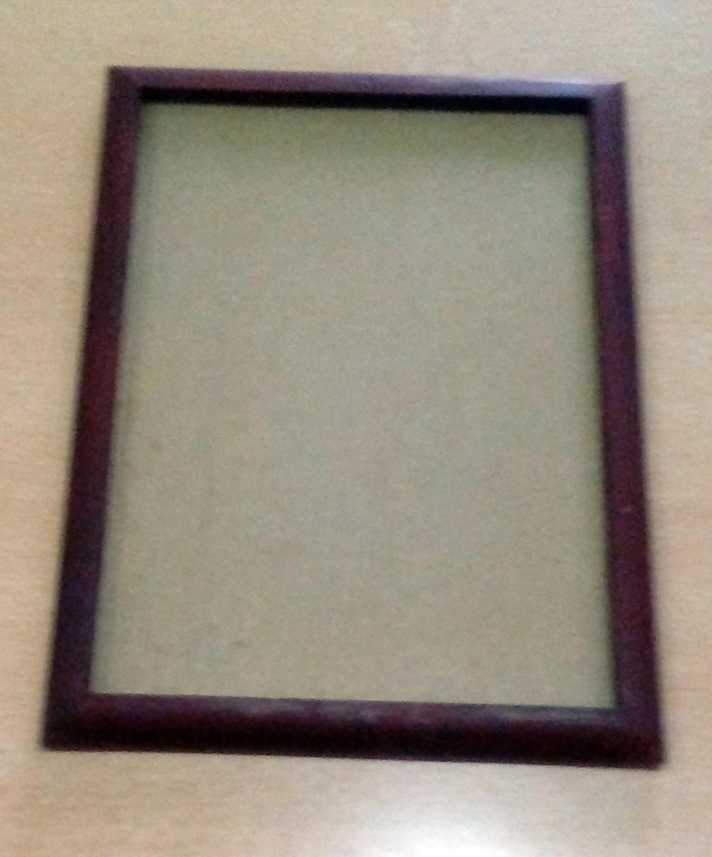 Porta Retrato - Marco Madera Con Vidrio - 18 X 25 Cm - $ 50,00 en ...