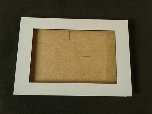 porta retrato mdf branco 10x15 para lembrancinha festa 10und