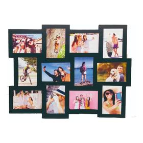 Porta Retrato Múltiple De 12 Fotos De Mdf 12mm Con Tus Fotos