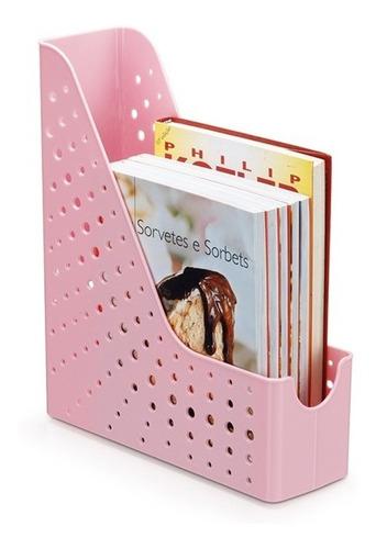 porta revista maxcril rosa pastel waleu